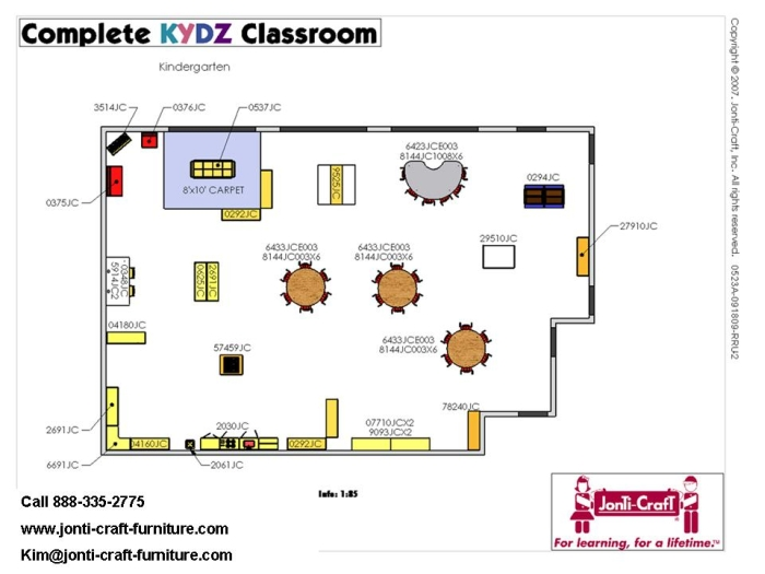 Classroom Design In Preschool : Kindergarten classroom design