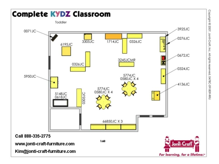 Toddler Classroom Design