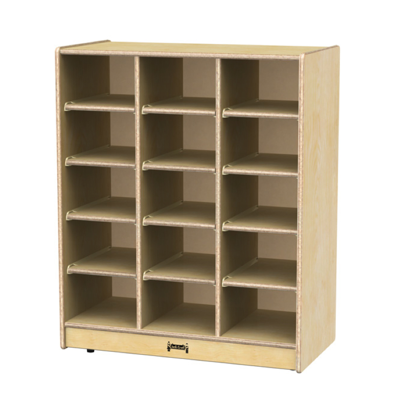 Jonti Craft 15 Tray Cubbie Tray Mobile Storage Jonti Craft Furniture
