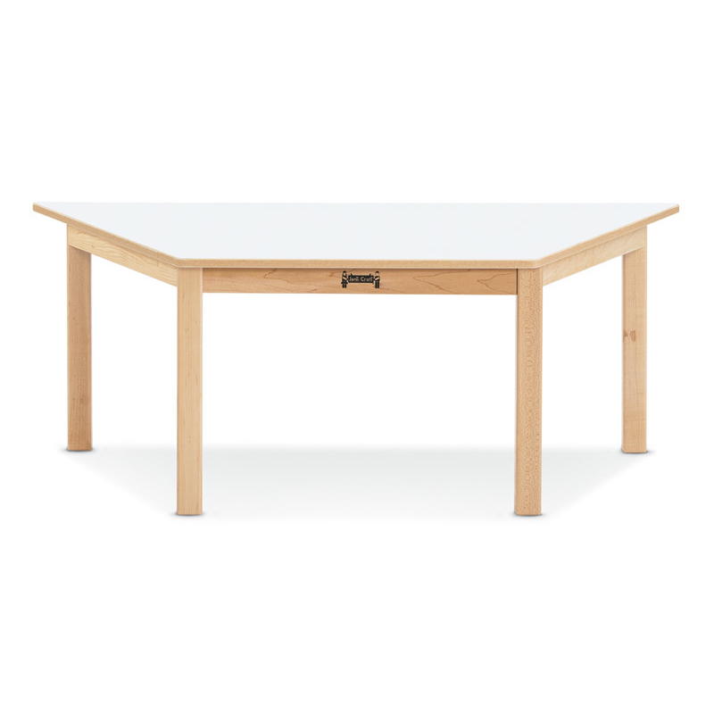 Multi purpose trapezoid tables jonti craft on sale now for Trapezoid table