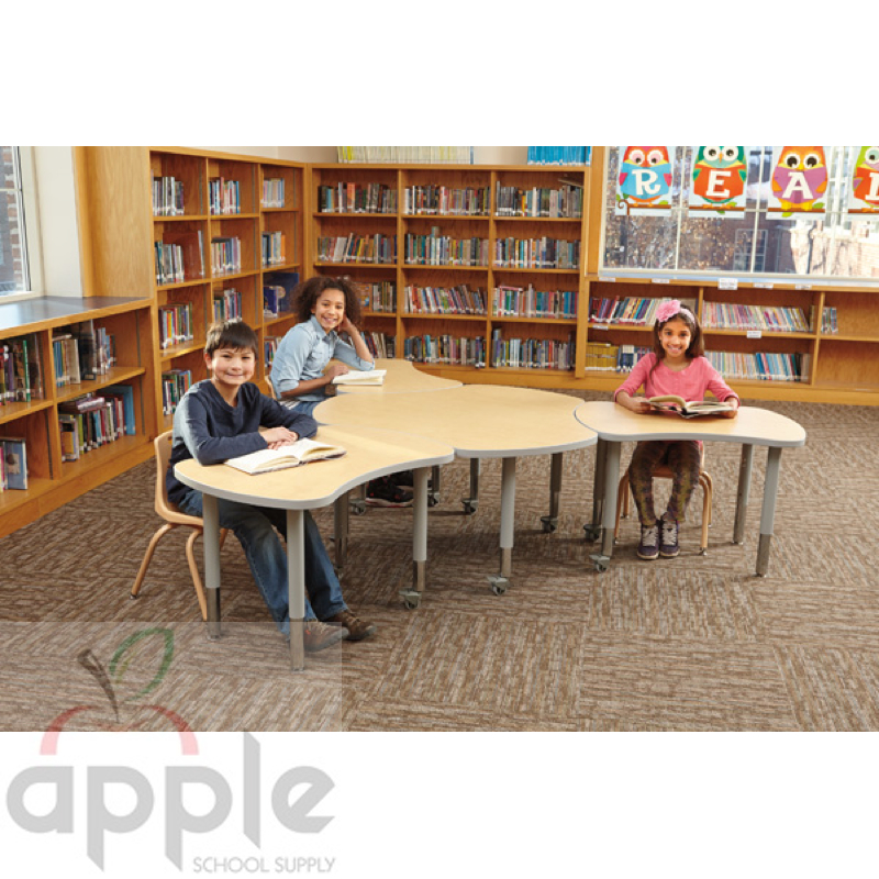 Collaborative Classroom Hub ~ Jonti craft berries collaborative hub tables