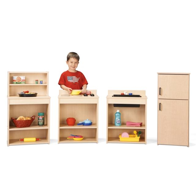 Young Time Furniture Wooden Play Kitchen Set 7080YR441
