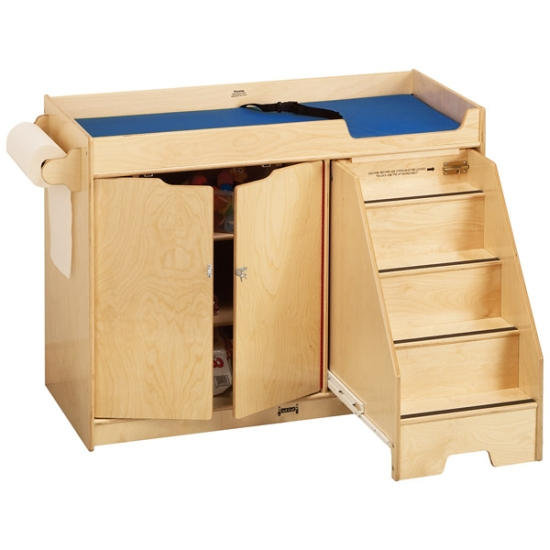 Jonti-Craft Changing Table w/ Right Side Stairs, 5137JC, On Sale Now