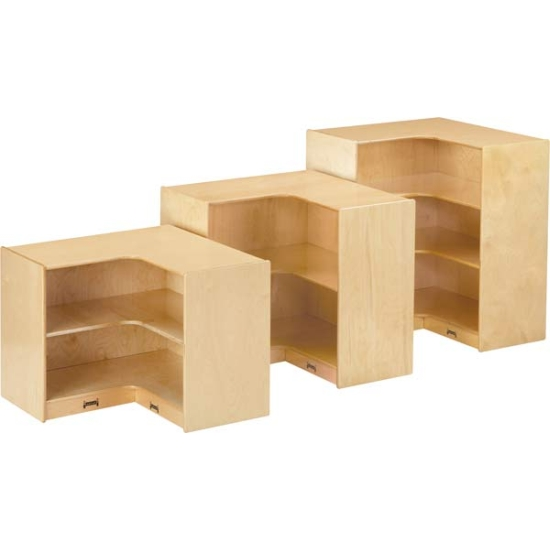 Super Sized Corner Storage 6691jc Jonti Craft