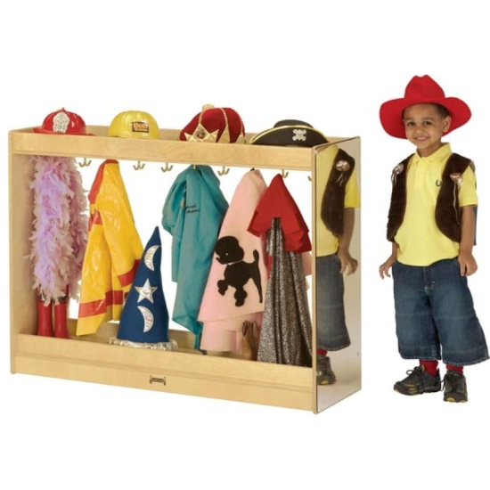 Dress Up Pretend Play Images On: Jonti-Craft Large Dress Up Island, 09121JC, Jonti-Craft