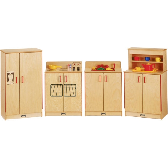 Wooden Play Kitchen kids play kitchen, 0273jc, jonti-craft-furniture