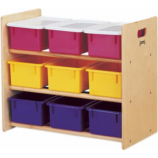 Jonti Craft Tote Storage Rack 9 Tray Jonti Craft