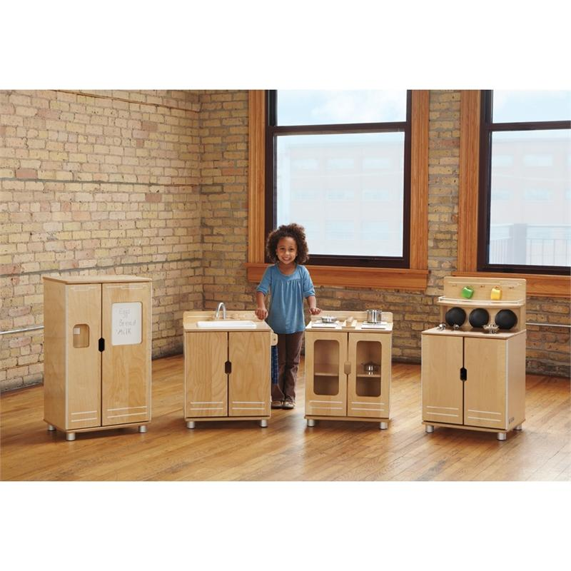 Play Kitchen Set truemodern play kitchen, 1711jc, ultra modern design