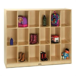 Jonti-Craft 18 Cubbie Locker Storage - 3944JC