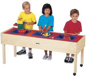 Jonti Craft 3 Tub Sensory Table Standard Height 0885jc