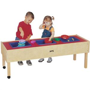 Jonti-Craft 3 Tub Sensory Table (Toddler Height) 0886JC