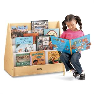 Jonti Craft Maplewave Flushback Pick A Book Stand 1 Sided 3514jc011