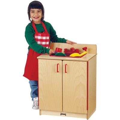 Wood Play Sink, Play Kitchen For Kids, 0208JC