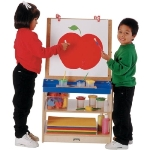 Jonti-Craft ThriftyKYDZ 2 Station Easel - 0289TK