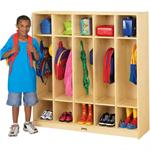 Jonti-Craft ThriftyKYDZ Coat Lockers - 5 Sections 2681TK