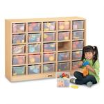 Jonti-Craft MapleWave 25 Tray Mobile Cubbie