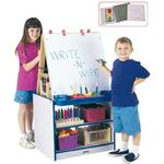 Jonti-Craft Rainbow Accents 2 Station Easels