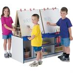 Jonti-Craft Rainbow Accents 4 Station Easels