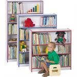 Jonti-Craft Rainbow Accents Book Cases - 4 Shelves
