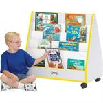 Jonti-Craft Rainbow Accents Mobile Pick-a-Book Stands - 1 Sided