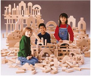 Unit Block Junior Set (220 PCS) 0262JC Jonti Craft