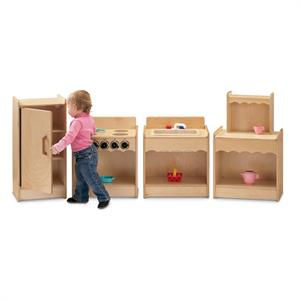 Jonti-Craft Toddler Contempo Kitchen (4pcs) - 2075JC