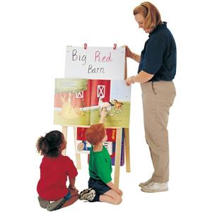 Teacher's Easel - (Write-n-Wipe) Jonti-Craft 2183JC