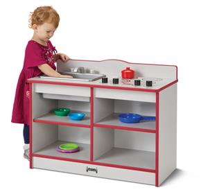 Jonti-Craft Rainbow Accents Toddler Kitchenette
