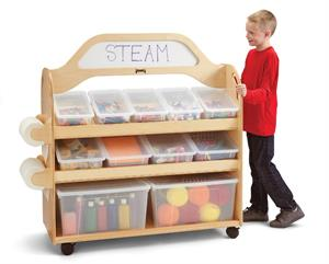 Jonti-Craft STEAM Multimedia Cart - 3522JC