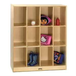 Jonti-Craft 12 Cubbie Locker Storage - 3942JC