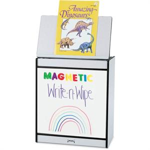 Jonti-Craft Rainbow Accents Big Book Easels - Magneti Write-n-Wipe - 0543JCMGWW