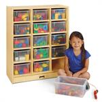Jonti-Craft 15 Cubbie-Tray Mobile Unit 06480JC