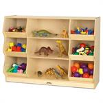Jonti-Craft Open Storage with Beveled Front - 3932JC