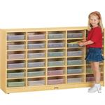Jonti-Craft 30 Paper-Tray Cubbie