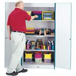 Jonti-Craft Rainbow Accents Classroom Closets - Deluxe