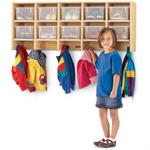 Jonti-Craft MapleWave Coat Locker