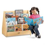 Jonti-Craft MapleWave Flushback Pick-a-Book Stand - 1 Sided 3514JC011
