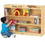 Jonti-Craft ThriftyKYDZ Mobile Bookcase w/Lip - 0782TK