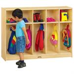 Jonti-Craft ThriftyKYDZ Toddler Coat Locker - 5 Sections - 2684TK